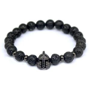 Onyx Knight Bracelet