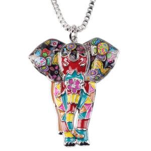 Maxi Jungle Elephant Necklace