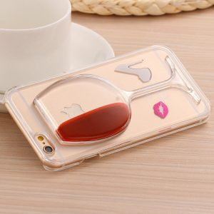 ★ FREE ★ Wine Glass iPhone Case
