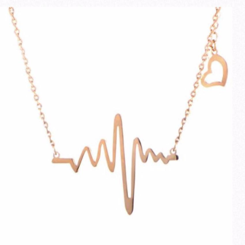 Lifeline Heart Beat Necklace