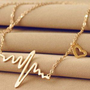 Lifeline Heart Beat Necklace