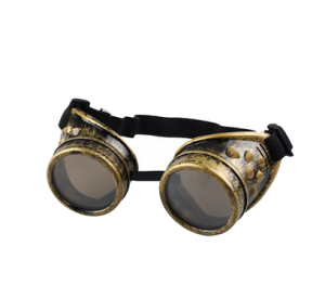 Vintage Victorian Style Steampunk Welding Goggles