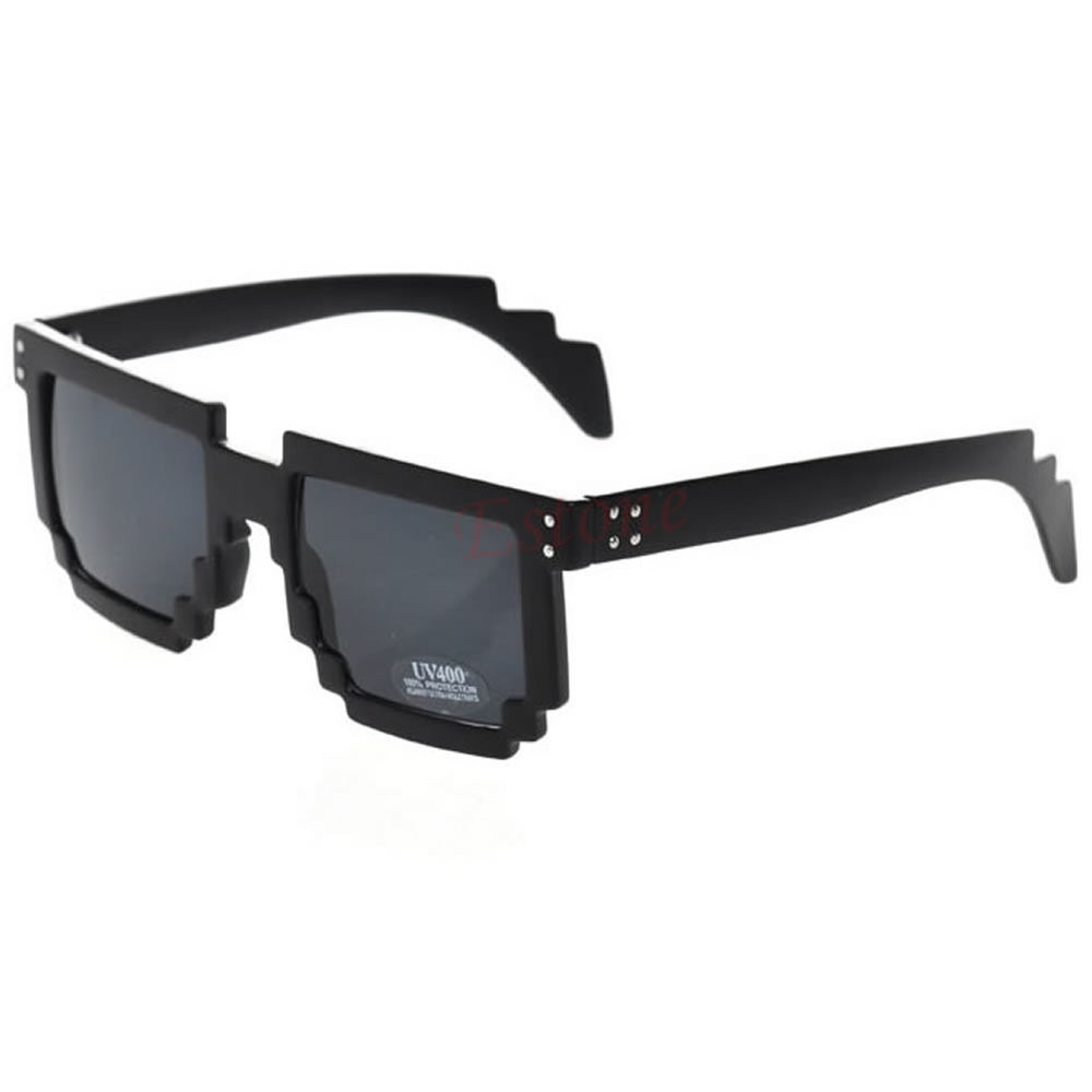 Hipster 8-Bit Gamer Nerd Geek Glasses