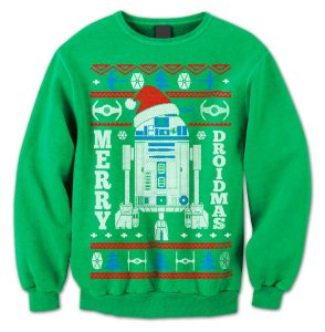Merry Droidmas Christmas Sweater