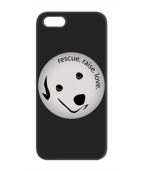 Rescue, Raise, Love iPhone 5/5s Case