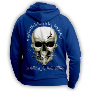 """''I Might Look Like Im Listening To You"""" Tattoo Lovers Hoodie"""