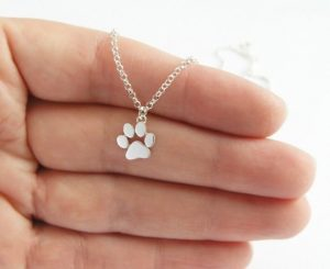 Dogs Paw Print Necklace
