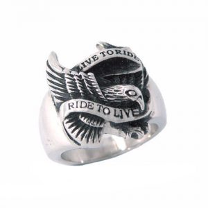 """Live To Ride"" Ring"