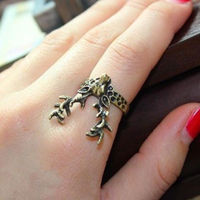Sika Deer Horn Ring