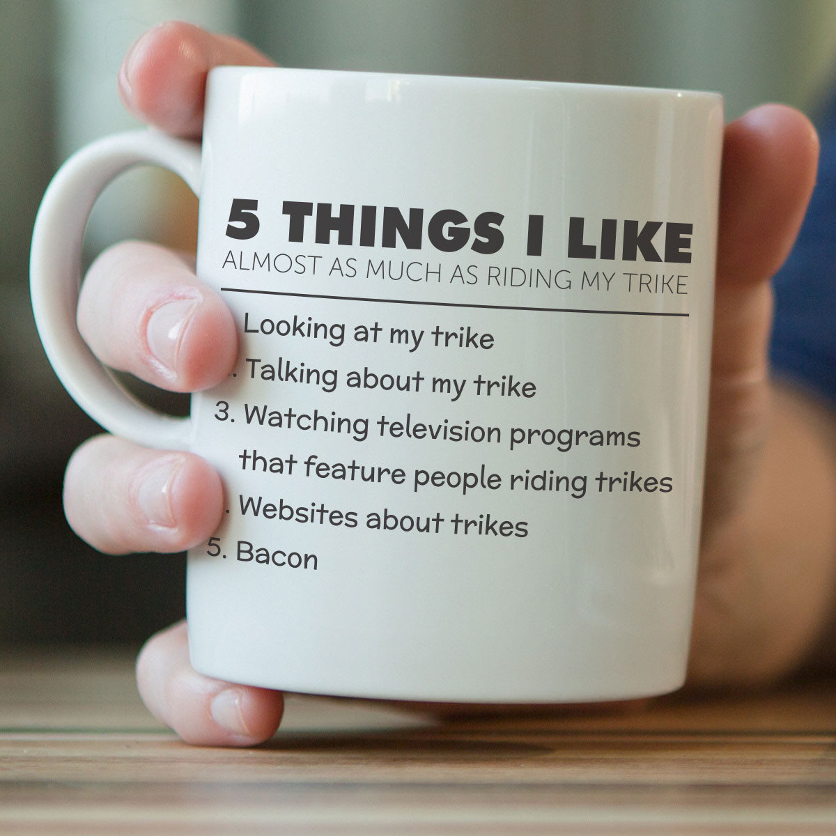5 Things I Like Almost As Much As Riding My Trike Mug