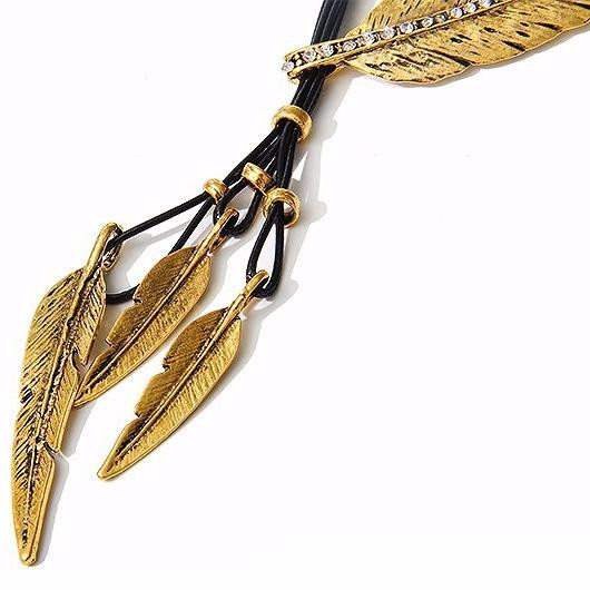 Bohemian Feather Necklace