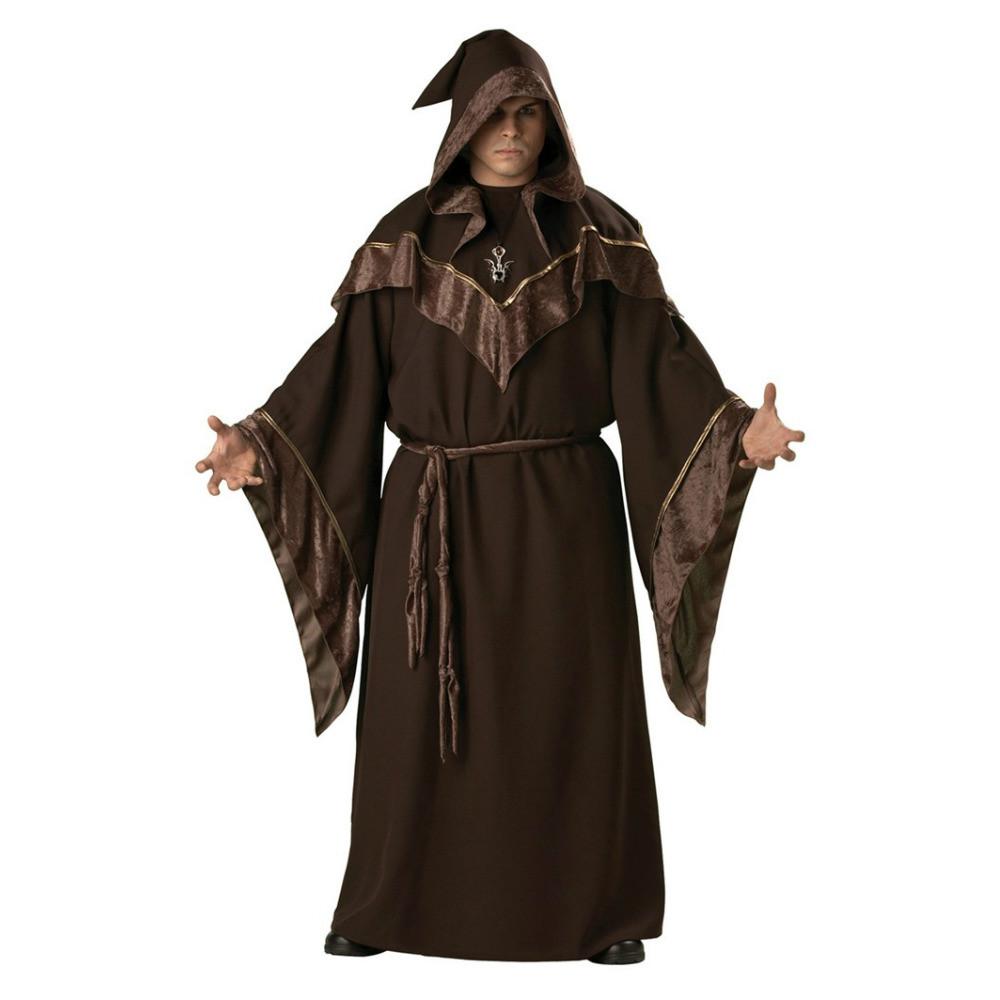 Gothic Wizard Halloween Costume