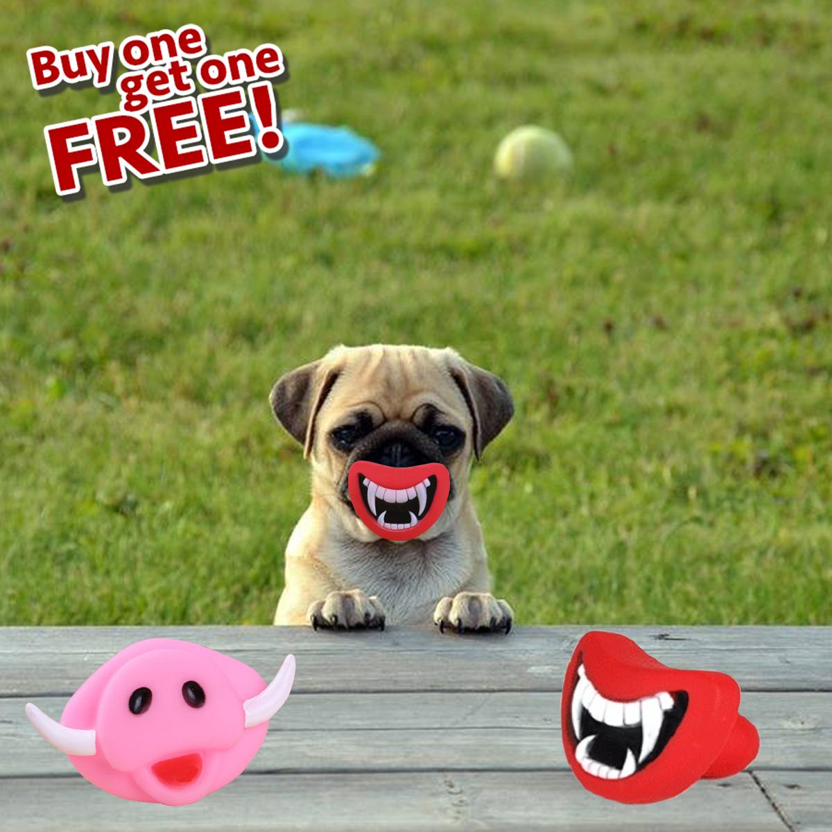 Anti Stress Monster Dog Toy