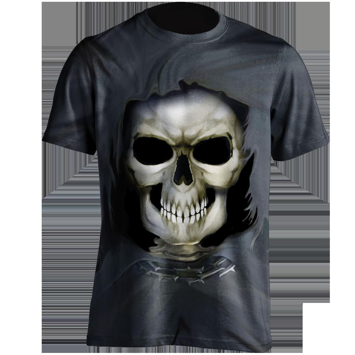 Inner Skeleton T-Shirt (all over printed)