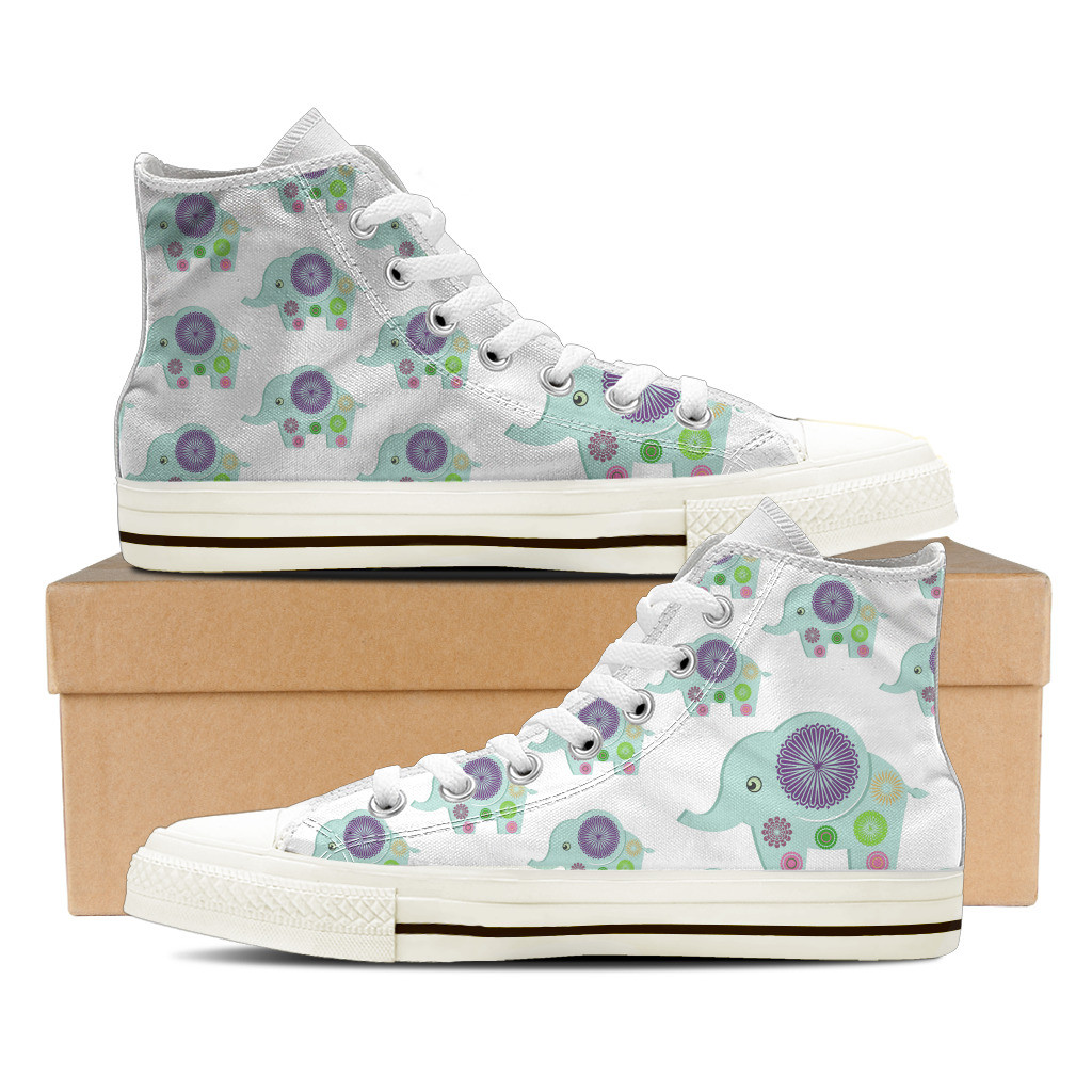 High Top Elephant Shoes